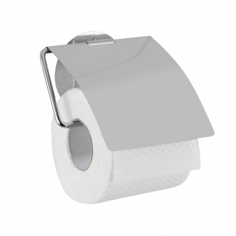 Держатель туалетной бумаги с крышкой STATIC-LOC