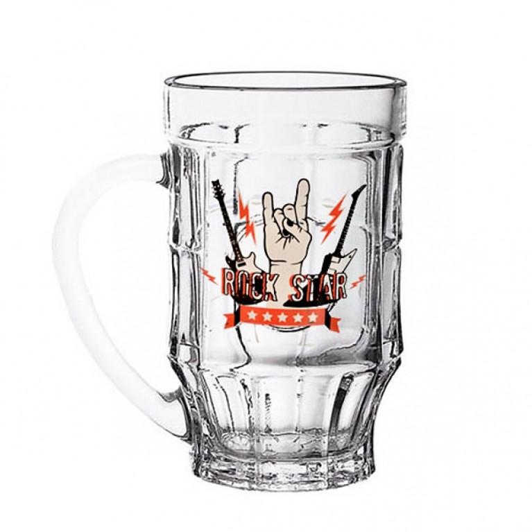 Кружка для пива ПИНТА РОК 500мл