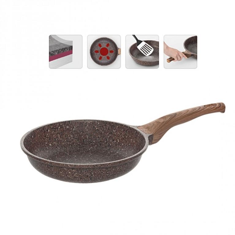 Сковорода с антипригарным покрытием 24см NADOBA серия GRETA