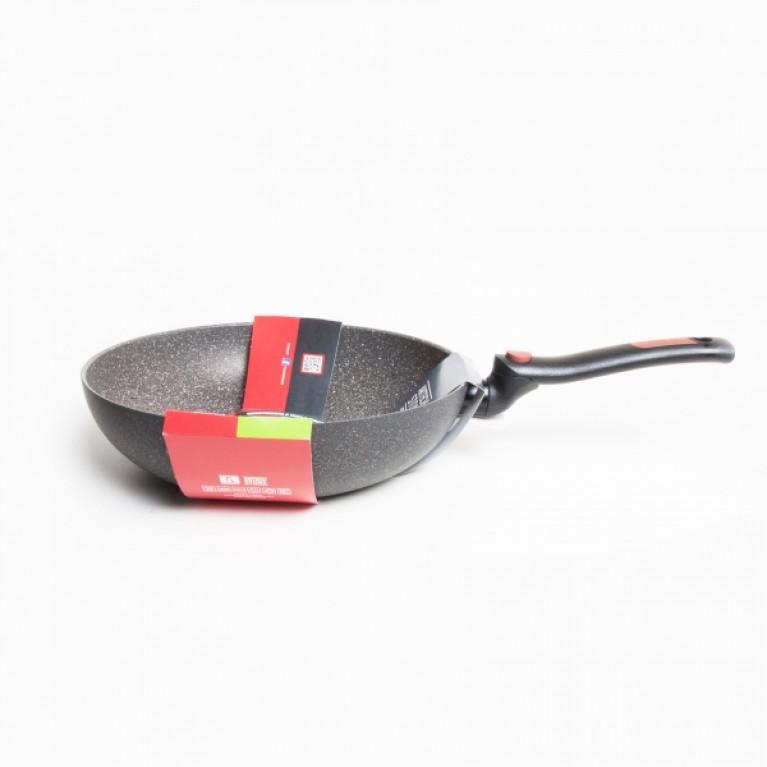 Сковорода ВОК со складной ручкой FACILE 28см индукция