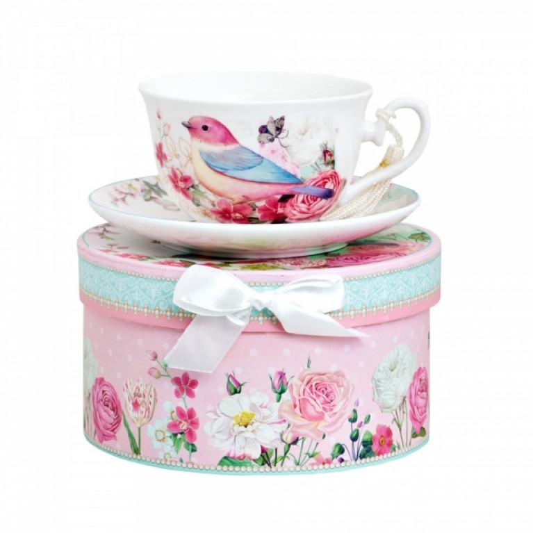 Чайная пара КАНАРЕЙКА в подарочной упаковке 300мл