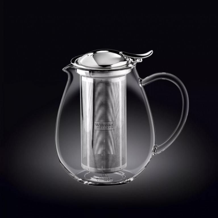 Чайник заварочный WILMAX THERMO GLASS, 1,3 л