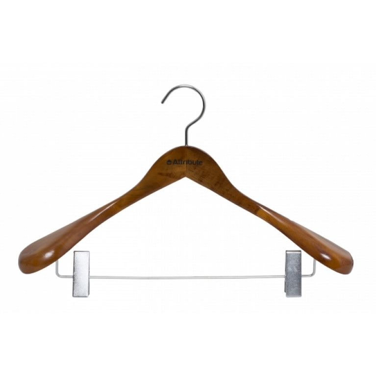 Вешалка для верхней одежды с клипсами STATUS 44см