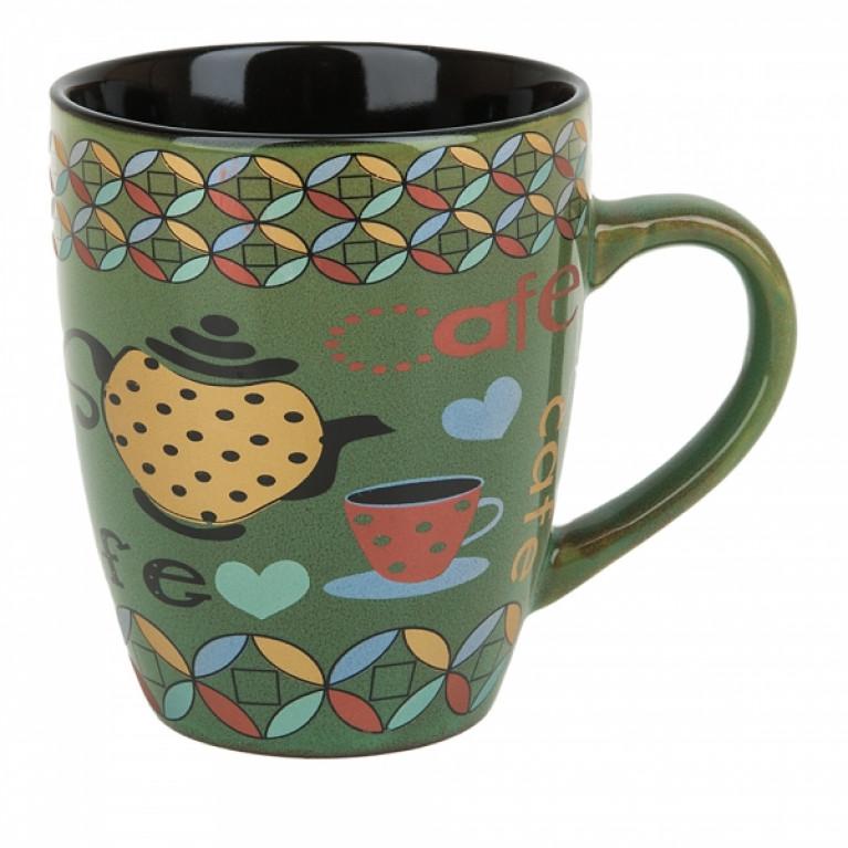 Кружка керамическая Утренний кофе v=370м