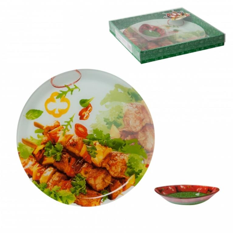 Тарелка для шашлыка 30см+соусник