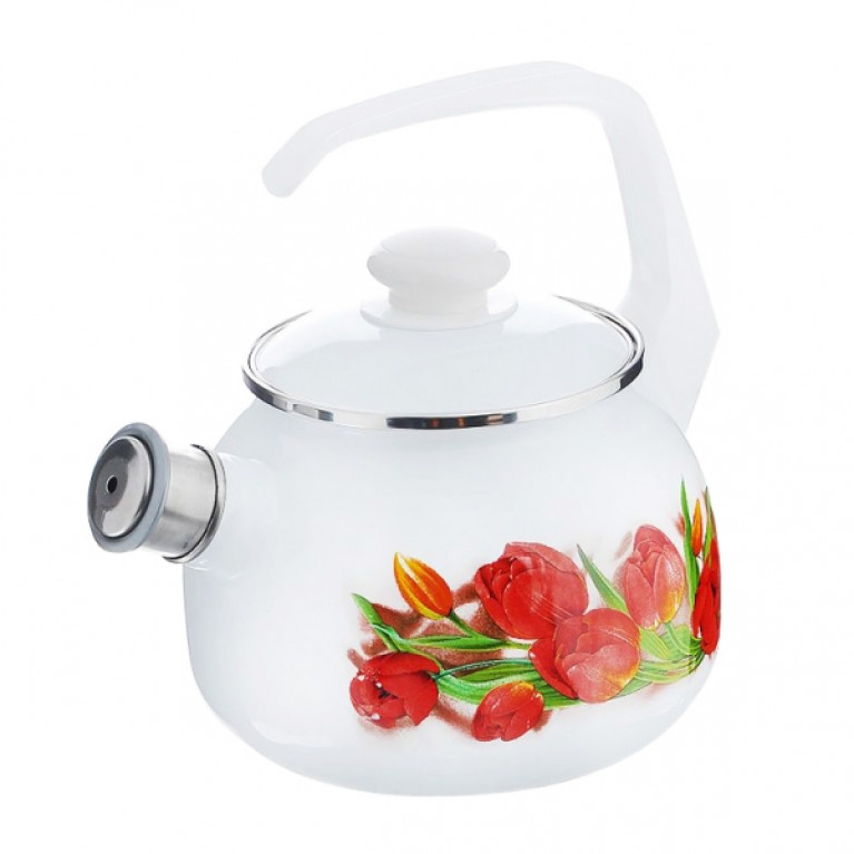 Чайник 2.5л со свист. с рис. (С-2711АП/4)