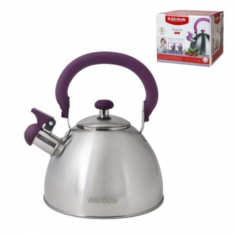Чайник со свистком FESTIVAL 2.5л