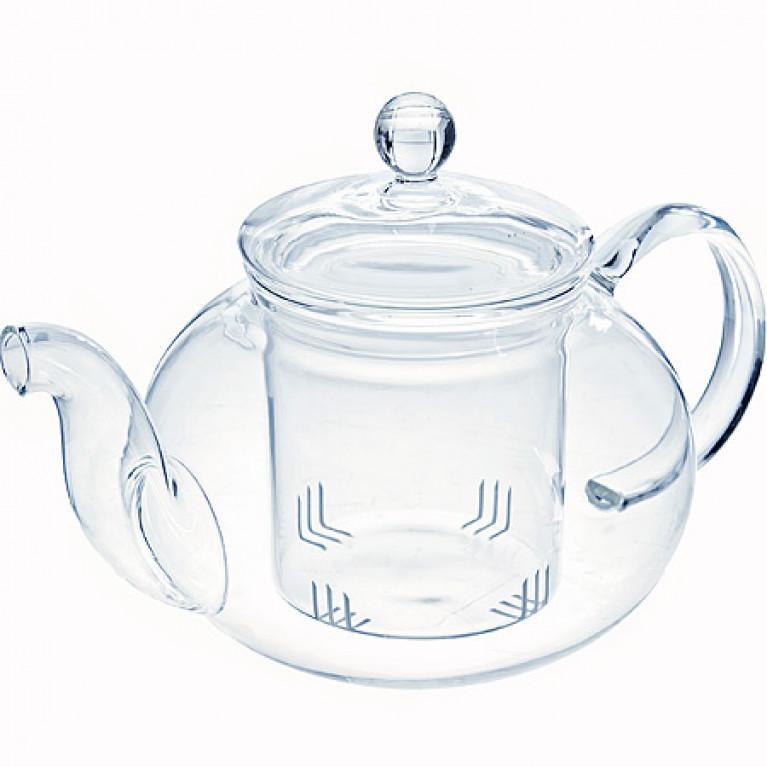 Заварочный чайник стекло 1 л с/кр МВ (х16)