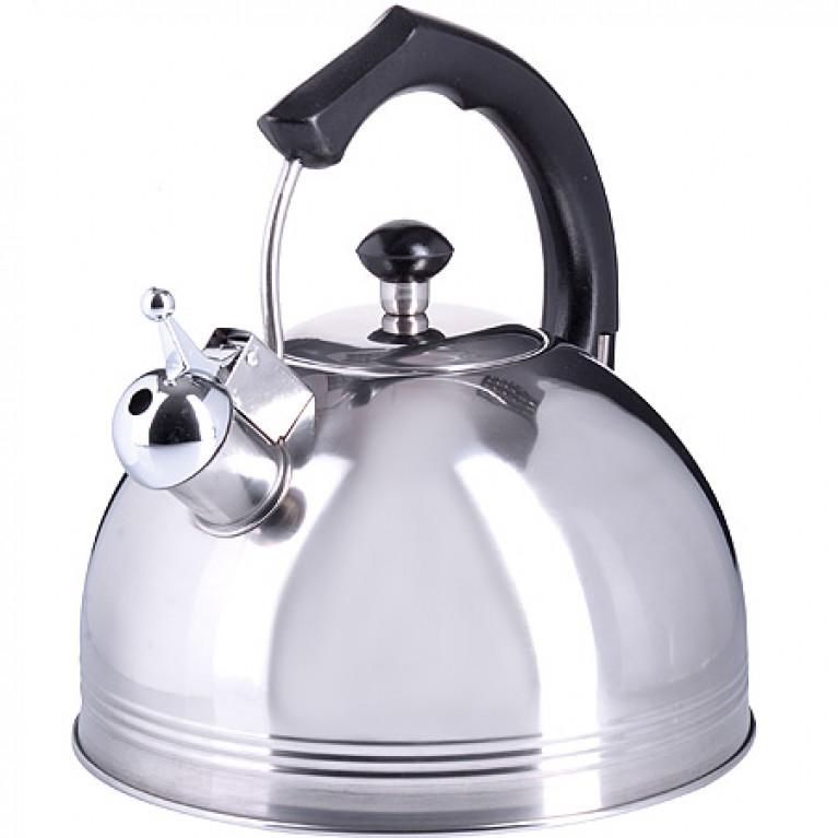 Чайник металлический 4 л со свистком MB (х12)