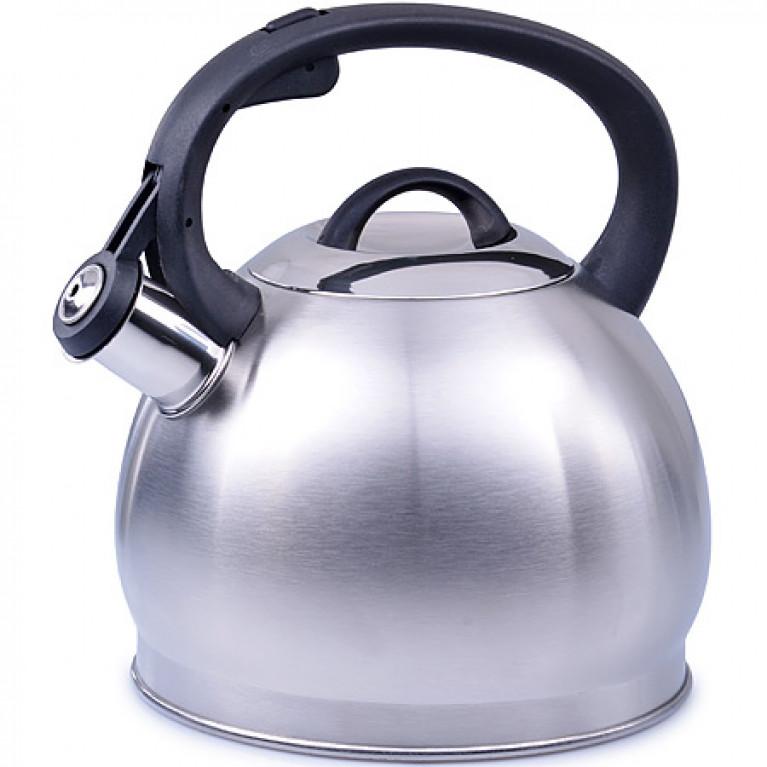 Чайник 2,7л нерж/сталь со свистком MB