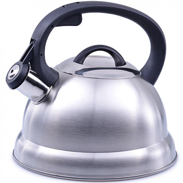 Чайник 2,3 л нерж/сталь со свистком MB