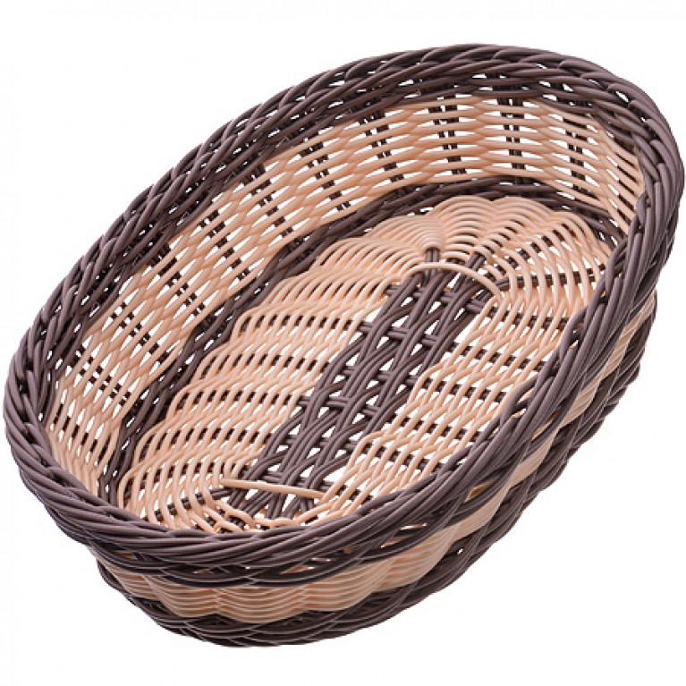 Корзина плетеная пластик 30,5х22 см MAYER&BOCH