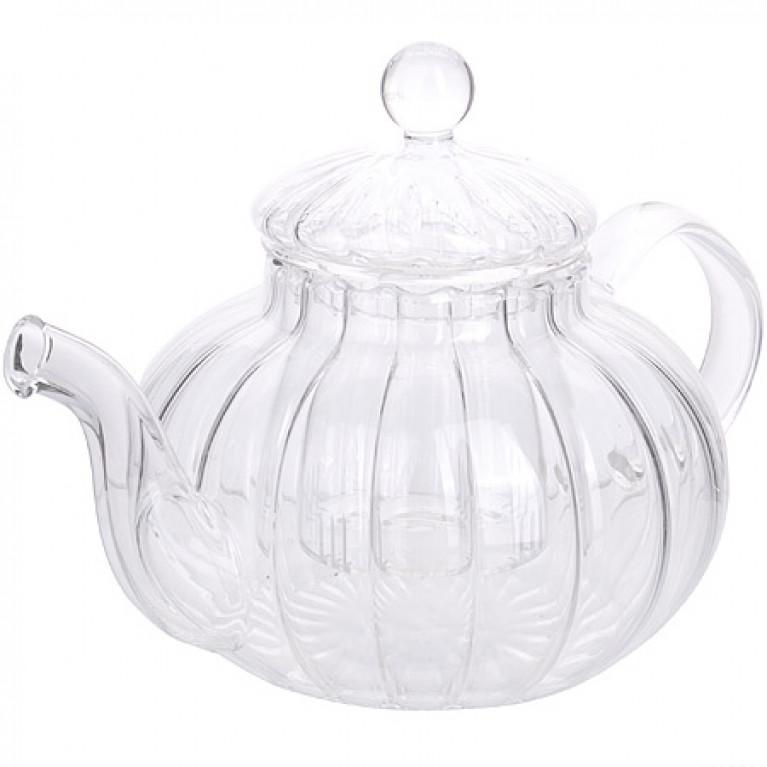 Заварочный чайник стекло 600мл с/кр МВ (х24)