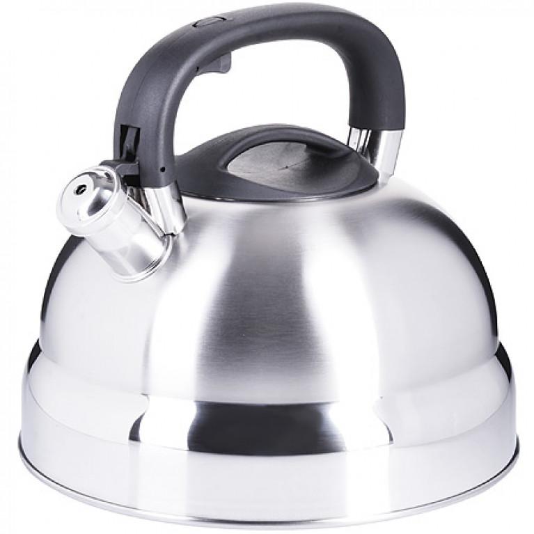 Чайник 6 л нерж/сталь со свистком MB