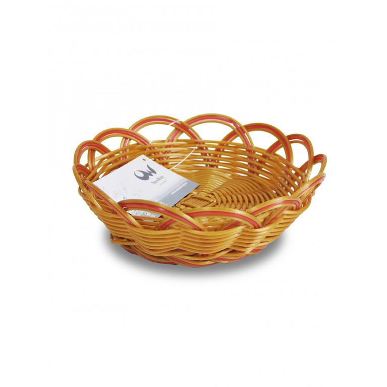 Корзинка плетеная Мульти D18х6,5см