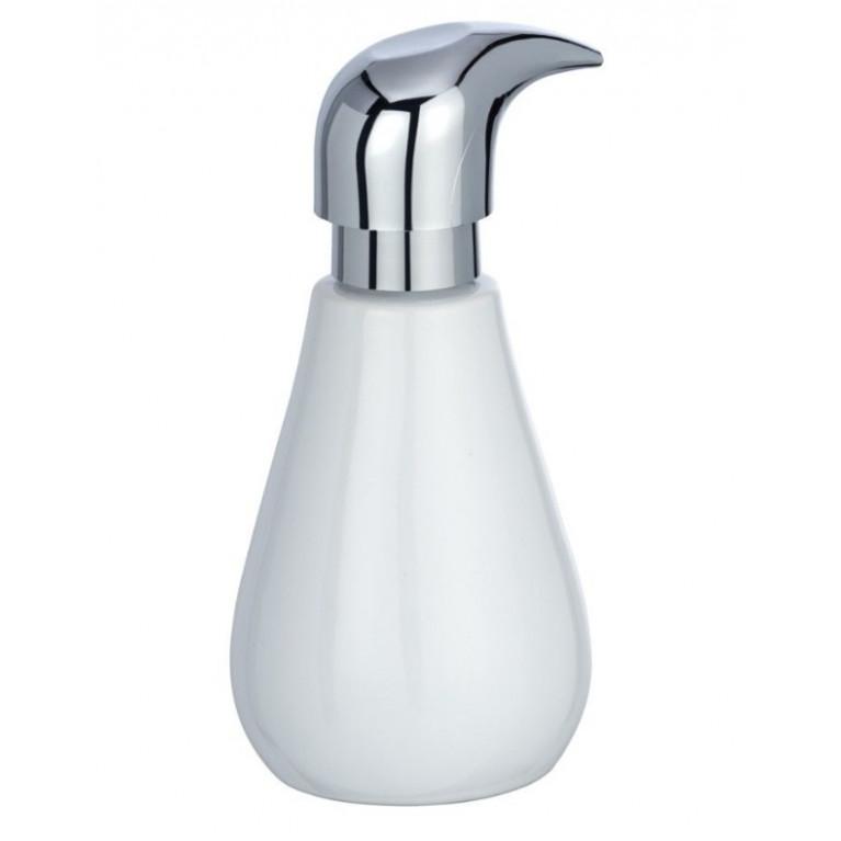 Керамический диспенсер для мыла Sydney белый глянец