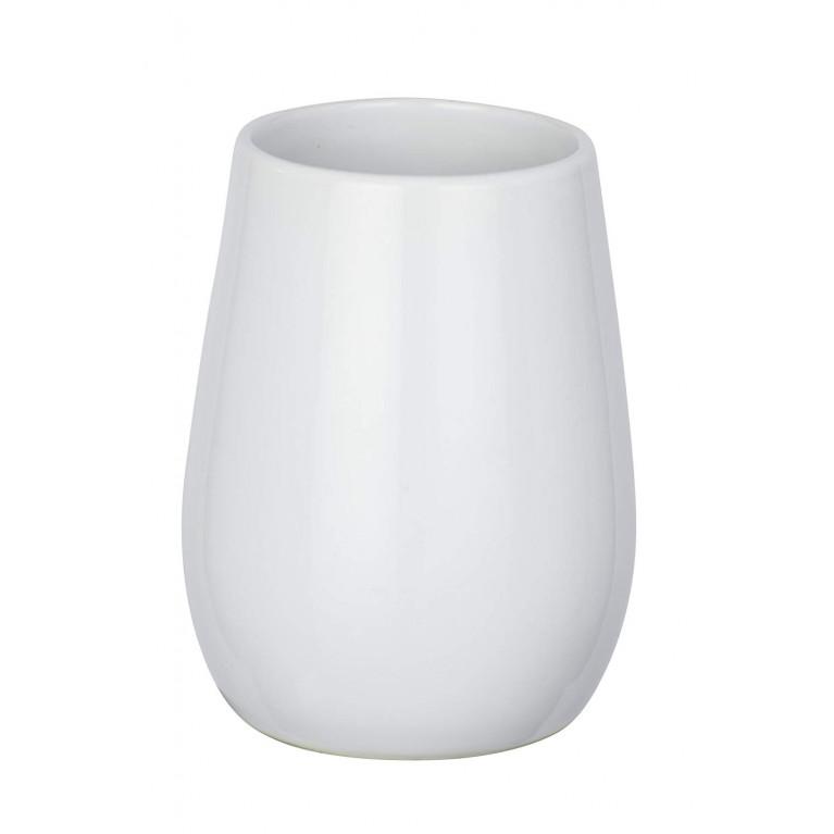 Керамический стакан Sydney белый глянец